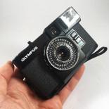 olympus pen EF flash d.zuiko 35mm 18x24 3.5 compact analog vintage