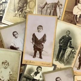 photo carte de visite ancienne vintage XIXème 1900 portrait