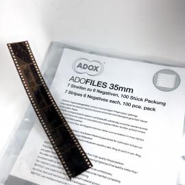 adox adofiles rangement négatif positif film 35mm polypropylène