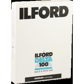 ilford delta 100 plan film 4x5 inch argentique negatif noir et blanc 25