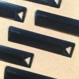 vintage comb men man black 1960 plastic french manufacture antique