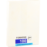 foma fomapan 100 45 inch 50 sheets negative black and white 4x5 inch analog 50