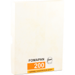 foma fomapan 200 45 inch 50 sheets negative black and white 4x5 inch analog 50