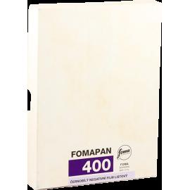 foma fomapan 400 4 5 inch plan film 4x5 inch argentique negatif noir et blanc 50pcs