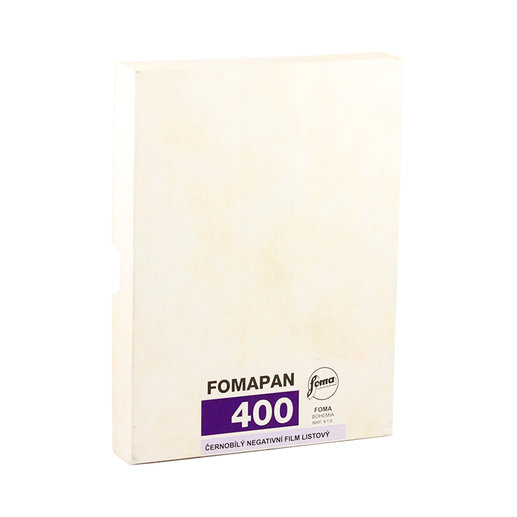 foma fomapan 400 45 inch 50 sheets negative black and white 4x5 inch analog 50