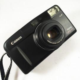 Canon appareil argentique prima super 115 noir 35mm compact autofocus zoom 38mm 115mm 3.6 8.5