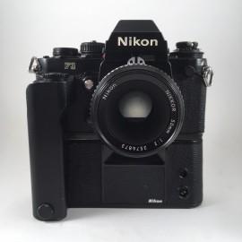 nikon f3 noir nikkor 50mm 2 appareil argentique ancien reflex motor drive md4
