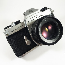 pentax spotmatic F SPF smc takumar 55mm 1.8 reflex argentique 35mm 135 appareil photo