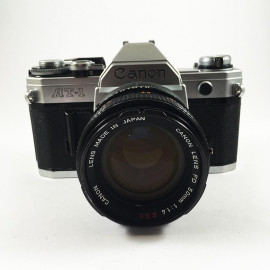 canon at1 at-1 reflex analog 50mm 1.4 f1.4 35mm 135 antique vintage 1977