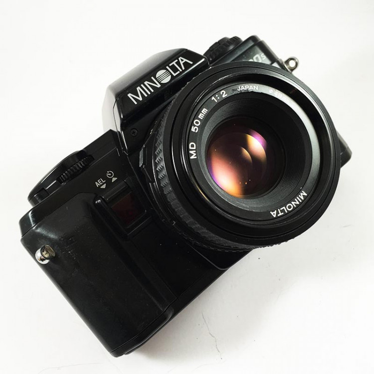 minolta x-300s 50mm 2 reflex analog 35mm analog film camera vintage