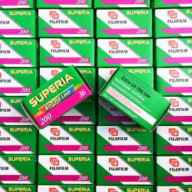 pellicule périmée argentique 35mm couleur fuji fujifilm superia 200 2004