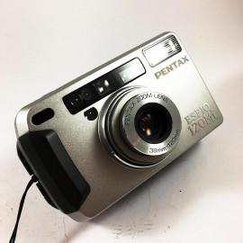 point and shoot Pentax camera analog espio 120mi 38 120 35mm compact autofocus zoom antique 2000
