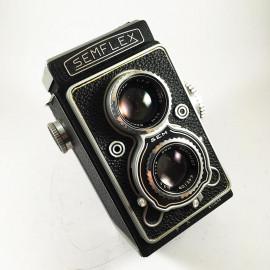 sem semflex standard 3.5 berthiot 75mm camera reflex tlr 6x6 argentique moyen format 120 1959 1960 noir