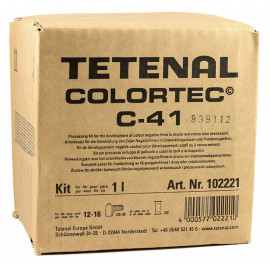 tetenal colortec c41 negative film color processing process kit 1l 1 liter