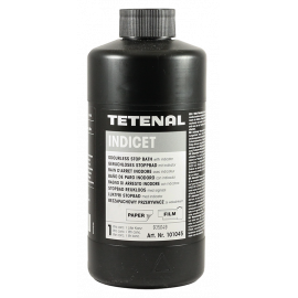 tetenal indicet stop bath chemistry black and white film paper analog