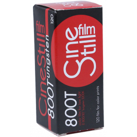 Cinestill Film 800 800T 120 Roll Medium Format Tungsten Photo Analog Film Color High Sensitivity Cinema Movie