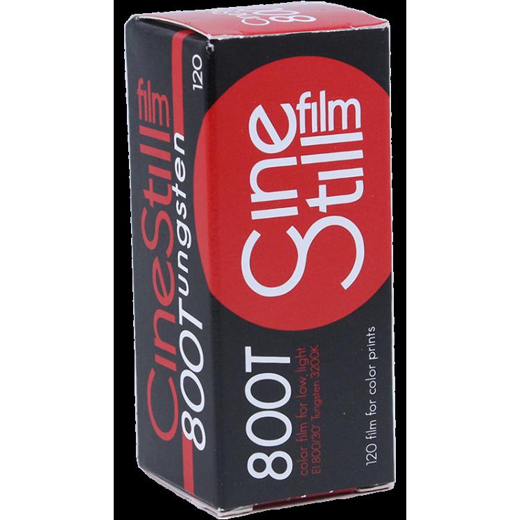 Cinestill Film 800 800T 120 Rouleau moyen format 800 iso couleur nuit haute sensibilité cinéma tungsten