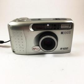 ricoh r100 35mm f4,5 30mm compact point and shoot autofocus ancien vintage flash 2001 argentique