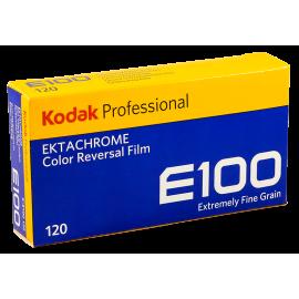 kodak ektachrome pack 5 120 roll rolls analog film slide color E100 100 iso medium format