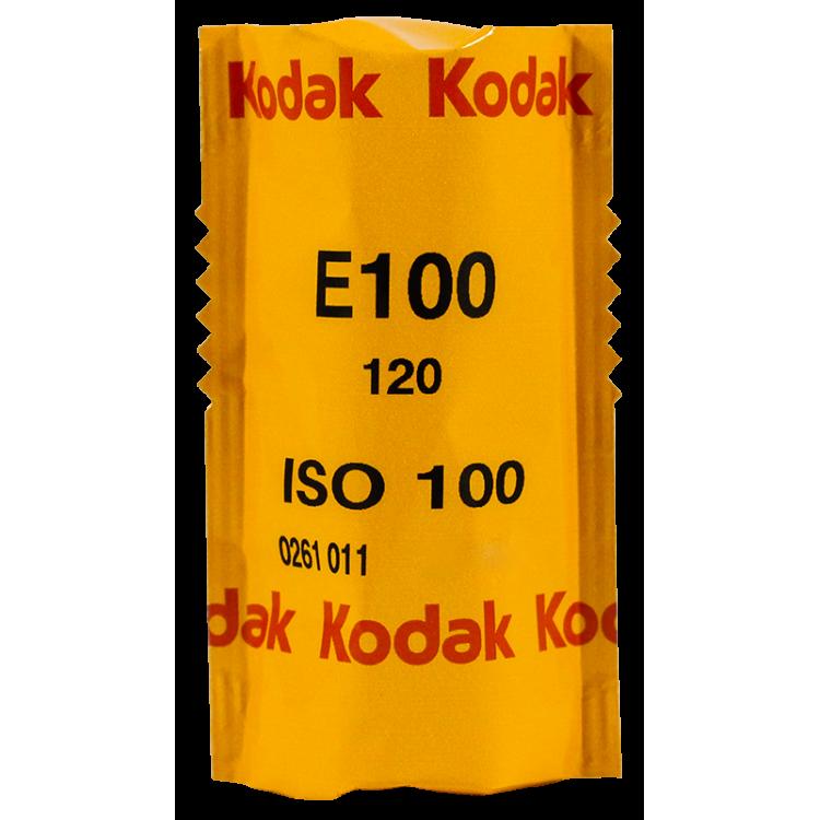 kodak ektachrome 120 roll rolls analog film slide color E100 100 iso medium format