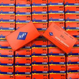 Expired analog film 126 cartridge Agfa CNS 80 Iso Kodak Instamatic
