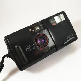 olympus af1super super af1 Infinity Super all weather point and shoot old vintage flash 35mm 2.8 analog autofocus
