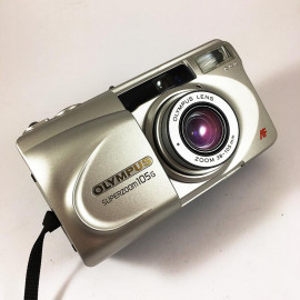 olympus af superzoom 105g zoom point and shoot ancien vintage 38-105mm  argentique 2002 compact camera boite box