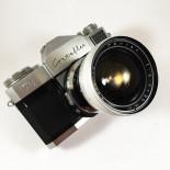 zeiss ikon contaflex prima 1960 reflex analog pantar 30mm 4 35mm 135 chrome silver