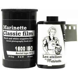 Marinette Classic Film 1300 Iso 1600 Iso Film Tasma Aerial 42L Type 42 analog film grain black and white