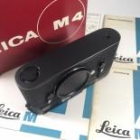 leica m4 black 50th anniversary jahre 1975 1750 pcs limited edition