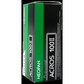 Fujifilm Fuji Neopan Acros II 2 film 120 pellicule argentique noir et blanc 100 iso photographie moyen format 120