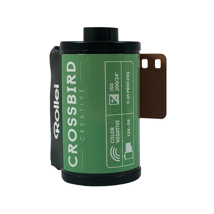 Rollei Crossbird 35mm film analog 135 color cross colour 200 iso C41 E6