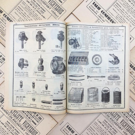 catalog bicycles vichy pro index comptoir cycliste vichyssois french moto bike motobike vintage 1950 1952 garage