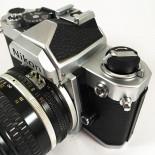 nikon fm chrome argentique reflex 50mm nikkor 1.4 135 35mm film appareil ancien