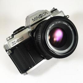 minolta x-500 50mm reflex appareil argentique 35mm vintage ancien
