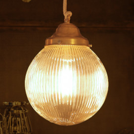 vintage art deco light holophane 1930 light lightning glass white opaline shade