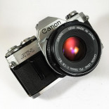 canon at1 at-1 reflex analog 50mm 1.8 f1.8 35mm 135 antique vintage 1977