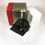Canon FD New 28mm 2.8 objectif ancien vintage argentique 35mm 24 36