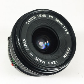 Canon FD New 28mm 2.8 objectif vintage 35mm 24 36 antique vintage analog reflex 24 36
