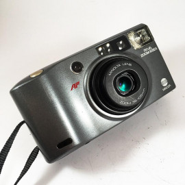 minolta riva af zoom 105 ex point and shoot ancien vintage 38-105mm  argentique 1993 compact camera gris