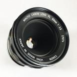 Canon FD new 50mm 3.5 macro fl objectif ancien vintage argentique 35mm 24 36