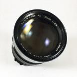 Canon FD new 135mm 2.8 objectif ancien vintage argentique 35mm 24 36