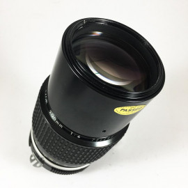 Nikon Nikkor ai 200mm f4 vintage lens analogue 35mm 24 36