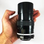 Nikon Nikkor ai 135mm 3.5 vintage lens analogue 35mm 24 36