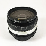 Nikon Nikkor ai 28mm 3.5 objectif ancien vintage argentique 35mm 24 36
