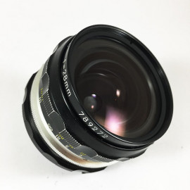 Nikon Nikkor ai 28mm 3.5 vintage lens analogue 35mm 24 36