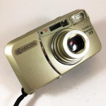 point and shoot camera analog yashica kyocera zoomate 115 38 115 35mm compact autofocus zoom antique 2001