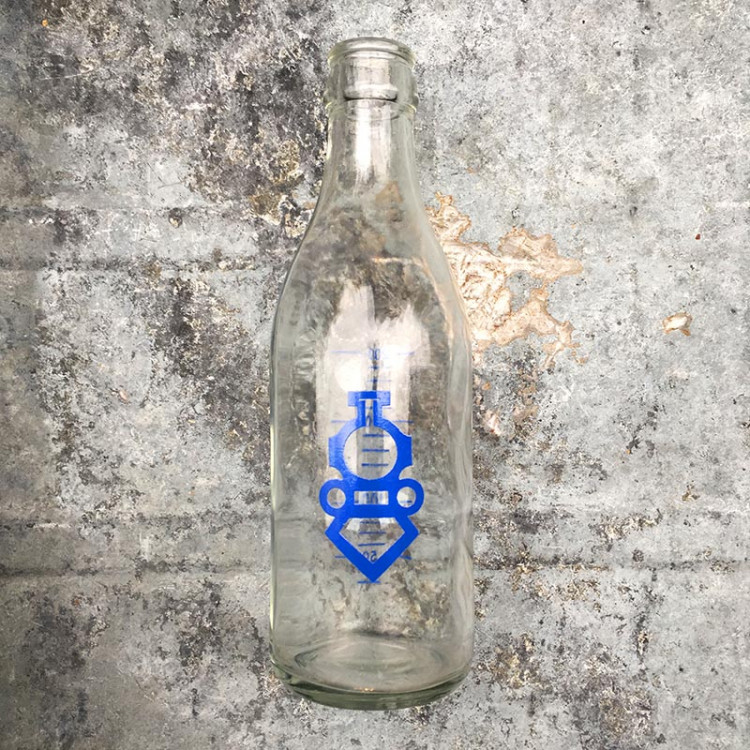 milk bottle berliet cafeteria antique vintage 1960