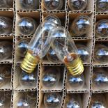ampoule machine à coudre E14 7w ancien vintage électricité couture 240v 1980