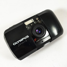 olympus mju i mju 1 compact point and shoot 35mm 3.5 argentique automatique